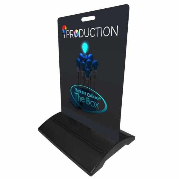 iproduction footpath sign