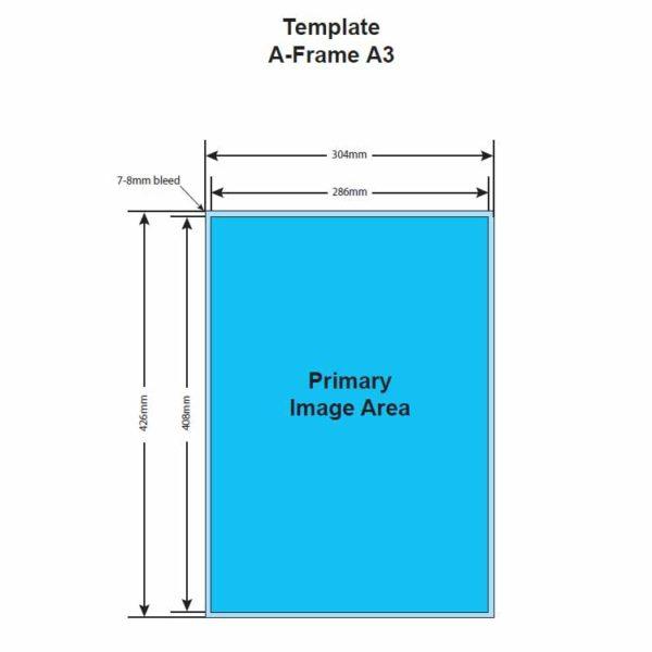 iproduction aluminium A frame template
