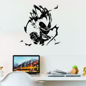Dragon Ball Vegeta Wall Decal